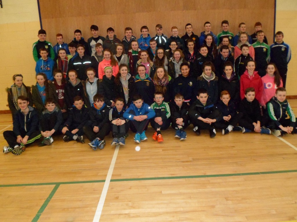 Students  from Dunmore Community School took part in the Glenamaddy Cross Country in preparation for the regional finals to be held later in St Mary's College Galway